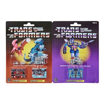 Transformers Generations 3-Pack Vintage G1 Mini-Cassettes HasCon 2019 Exclusive